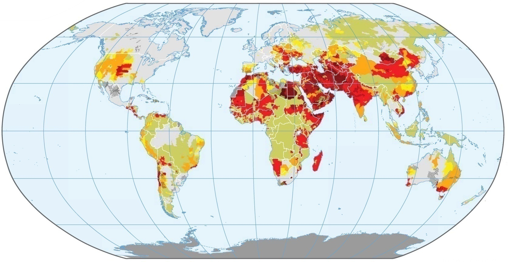 projected-change-in-water-stress-world-map-drought